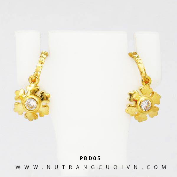 Bông tai vàng PBD05