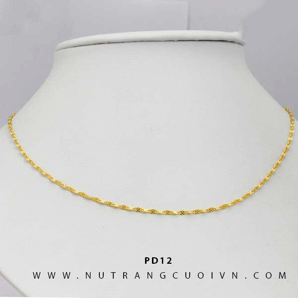 Dây chuyền vàng PD12