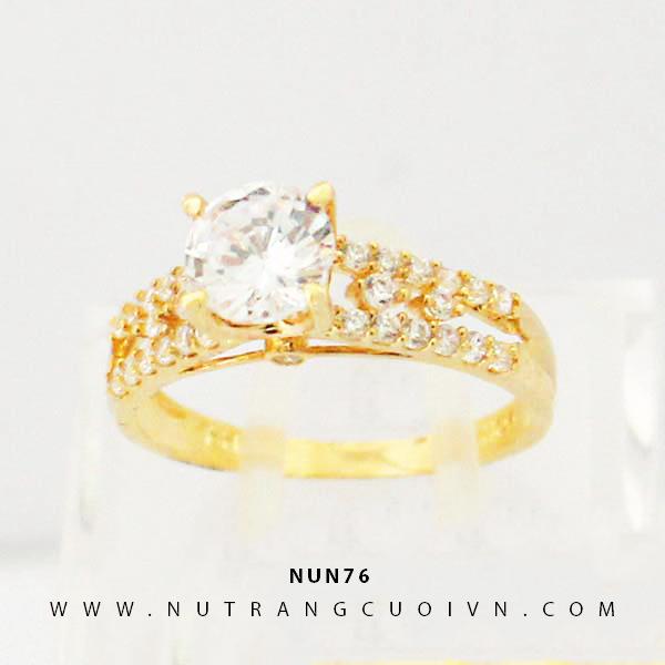 Nhẫn nữ vàng 18K NUN76