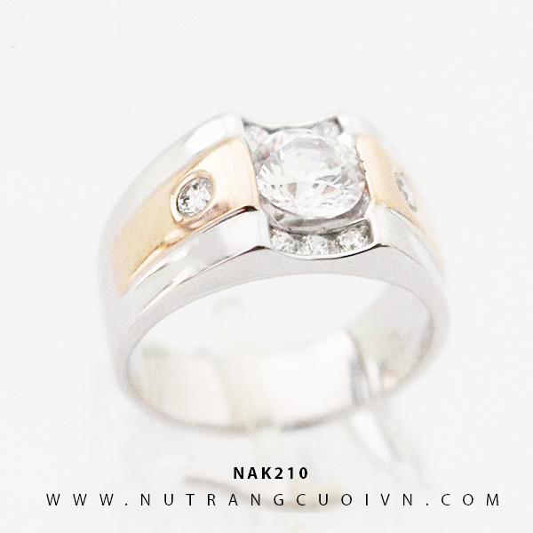 Nhẫn vàng nam NAK210