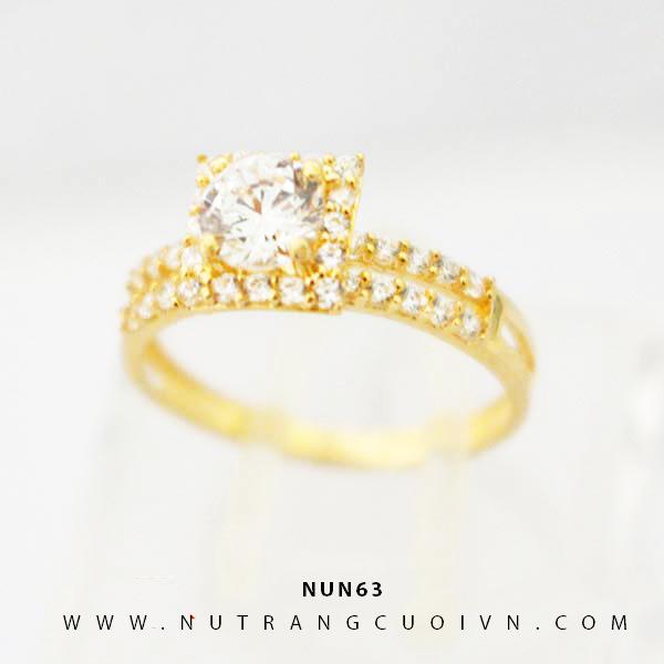 Nhẫn nữ vàng 18K NUN63