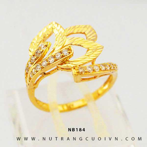 Nhẫn vàng nữ NB184
