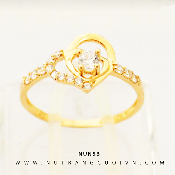 Nhẫn nữ vàng 18K NUN53