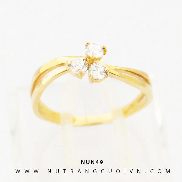 Nhẫn nữ vàng 18K NUN49