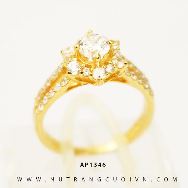 Nhẫn nữ vàng 18K NUN67