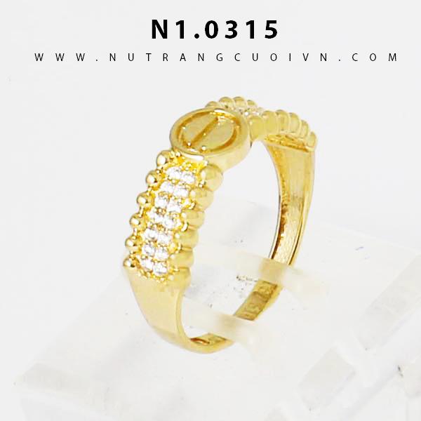 Nhẫn nữ N1.0315