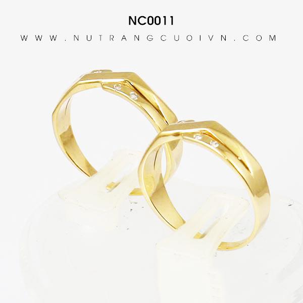 Nhẫn cưới NC0011
