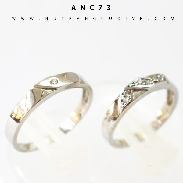 NHẪN CƯỚI ĐẸP ANC73