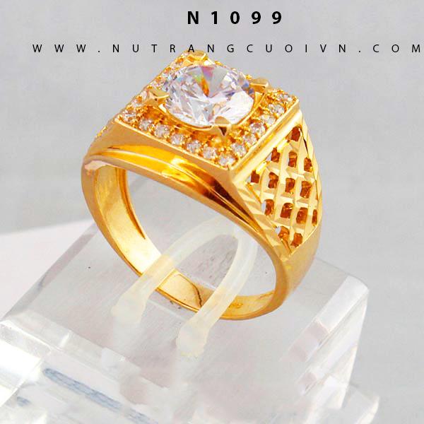 Nhẫn nam vàng N1099