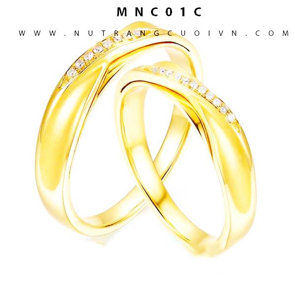 Nhẫn cưới MNC01C
