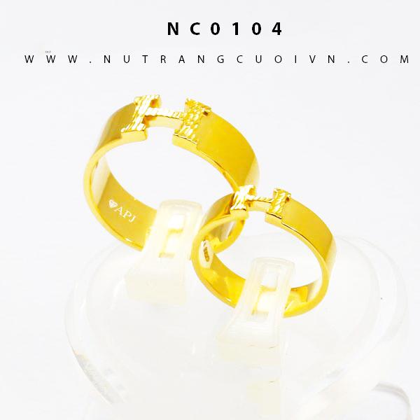 Nhẫn cưới NC0104