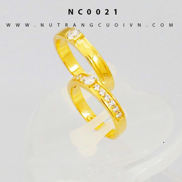 Nhẫn cưới vàng NC0021