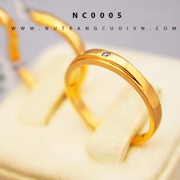 Nhẫn cưới đẹp NC0005