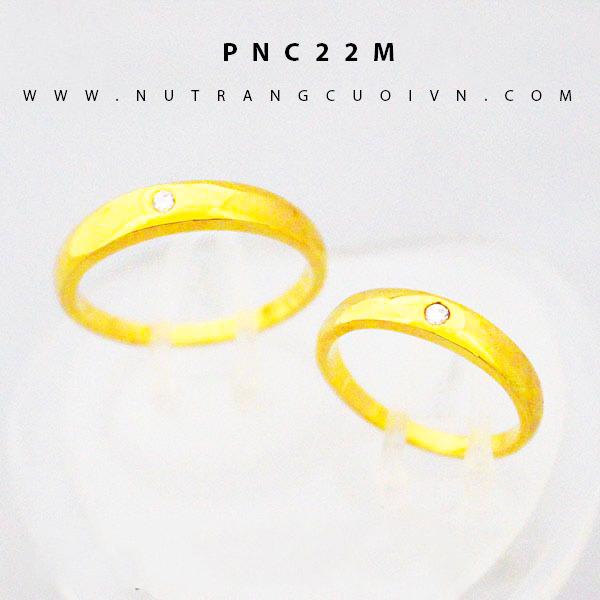 Nhẫn cưới đẹp PNC22M