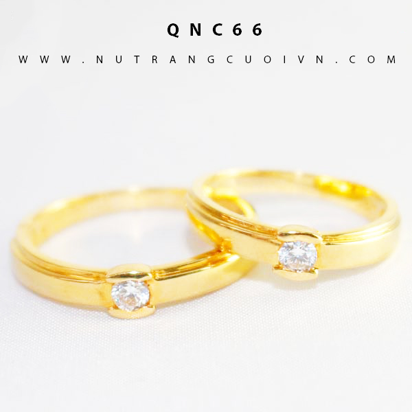 Nhẫn cưới đẹp QNC66
