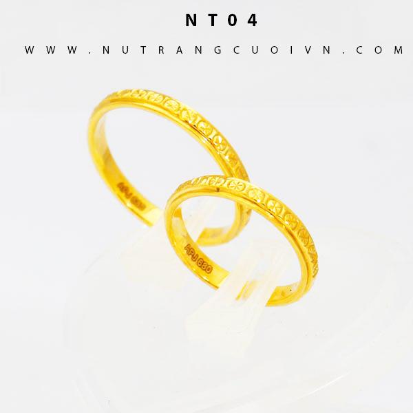 Nhẫn cưới đẹp NT04