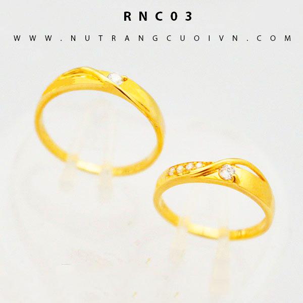Nhẫn cưới đẹp RNC03