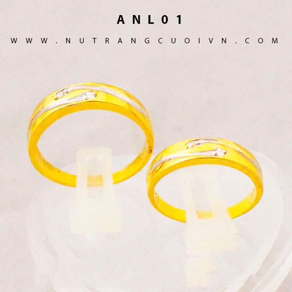 Nhẫn cưới đẹp ANL01