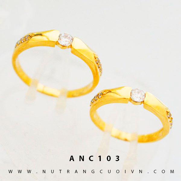 Nhẫn cưới đẹp ANC103