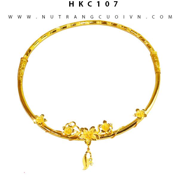KIỀNG VÀNG 24K HKC107