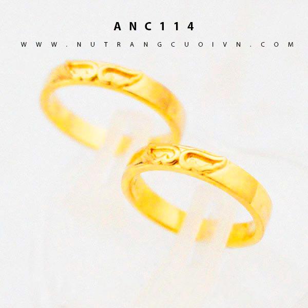 Nhẫn cưới đẹp ANC114
