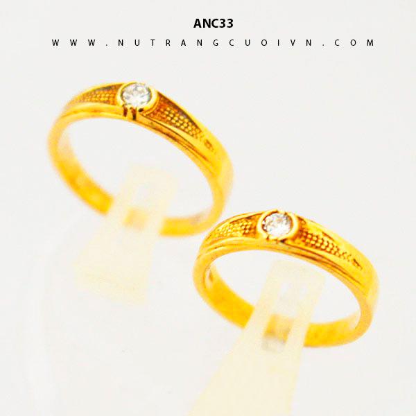 Nhẫn cưới đẹp ANC33