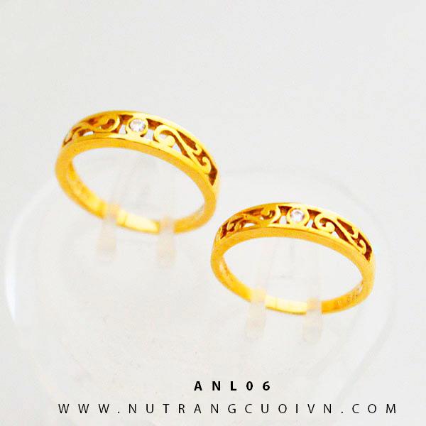 Nhẫn cưới đẹp ANL06