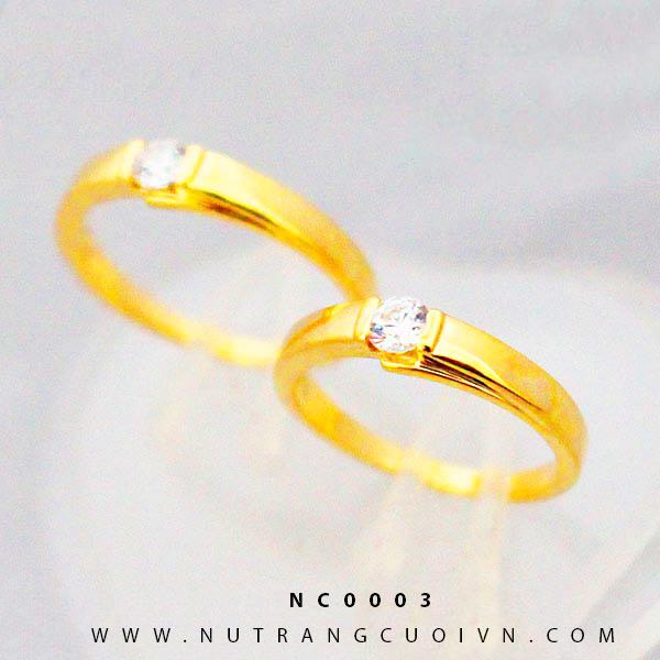 Nhẫn cưới đẹp NC0003