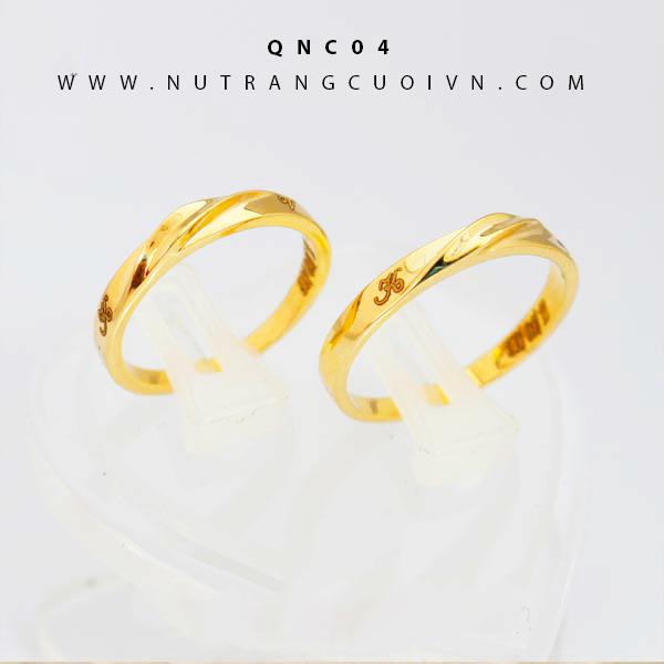 Nhẫn cưới đẹp QNC04