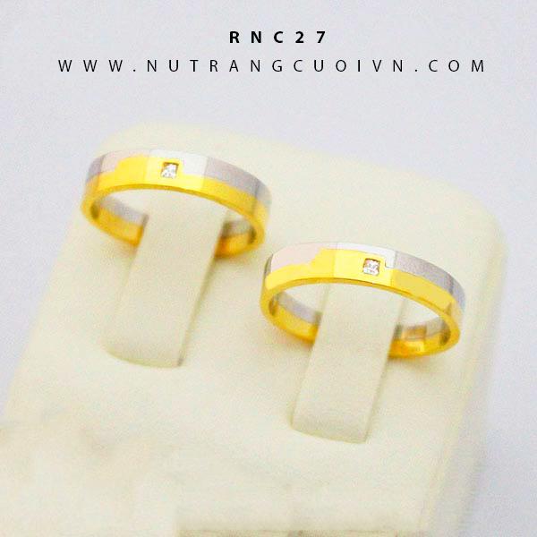 Nhẫn cưới đẹp RNC27