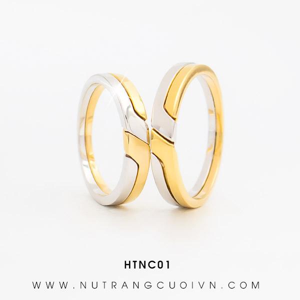Nhẫn cưới đẹp HTNC01