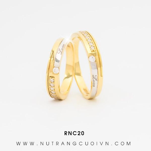 Nhẫn cưới RNC20