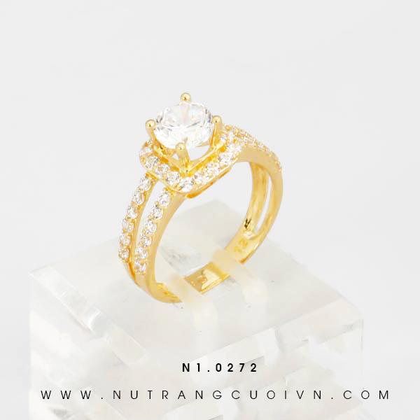 Nhẫn đính hôn N1.0272