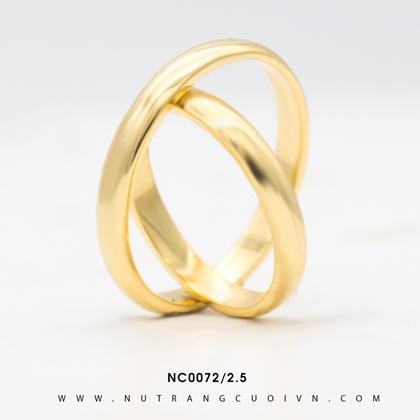 Nhẫn Cưới NC0072/2.5