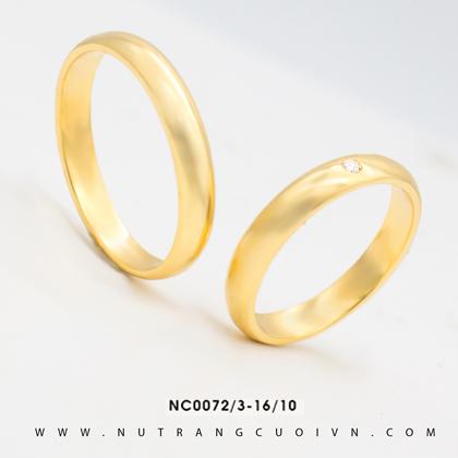 Nhẫn Cưới NC0072-3