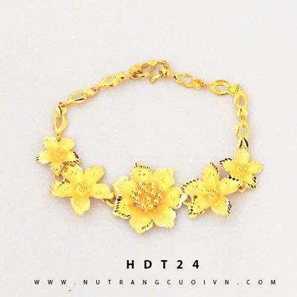 Lắc tay vàng 24K HDT24