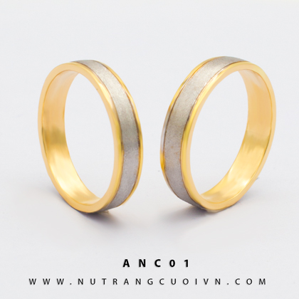 Nhẫn cưới đẹp ANC01