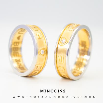 Nhẫn cưới đẹp MTNC0192