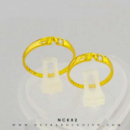 Nhẫn cưới NCK02