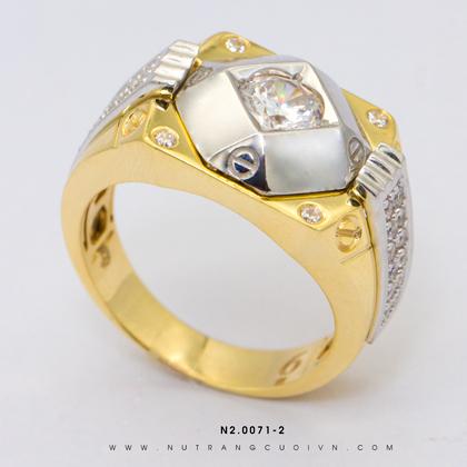 Nhẫn Nam N2.0071-2