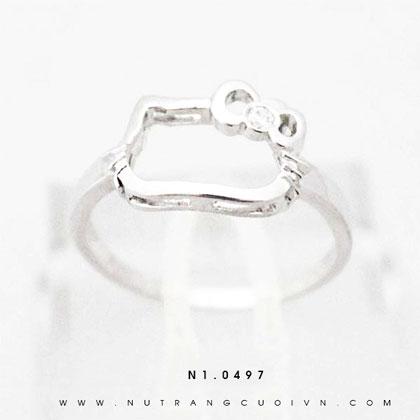 Nhẫn bạc N1.0497