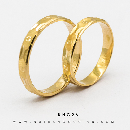 NHẪN CƯỚI KNC26