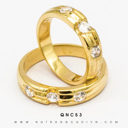 NHẪN CƯỚI QNC53