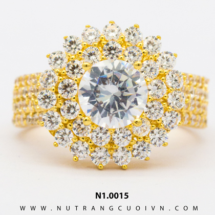 Nhẫn nữ đẹp N10015