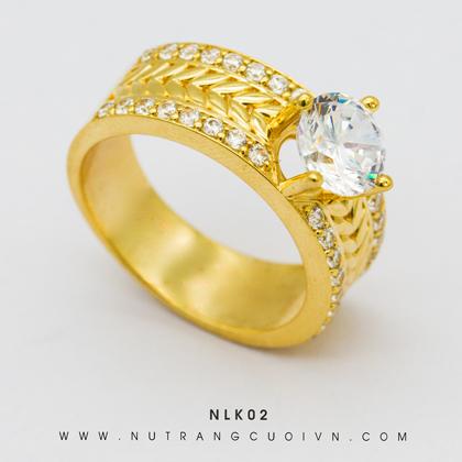 Nhẫn Nữ Đẹp NLK02
