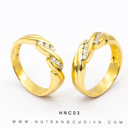 Nhẫn Cưới HNC03