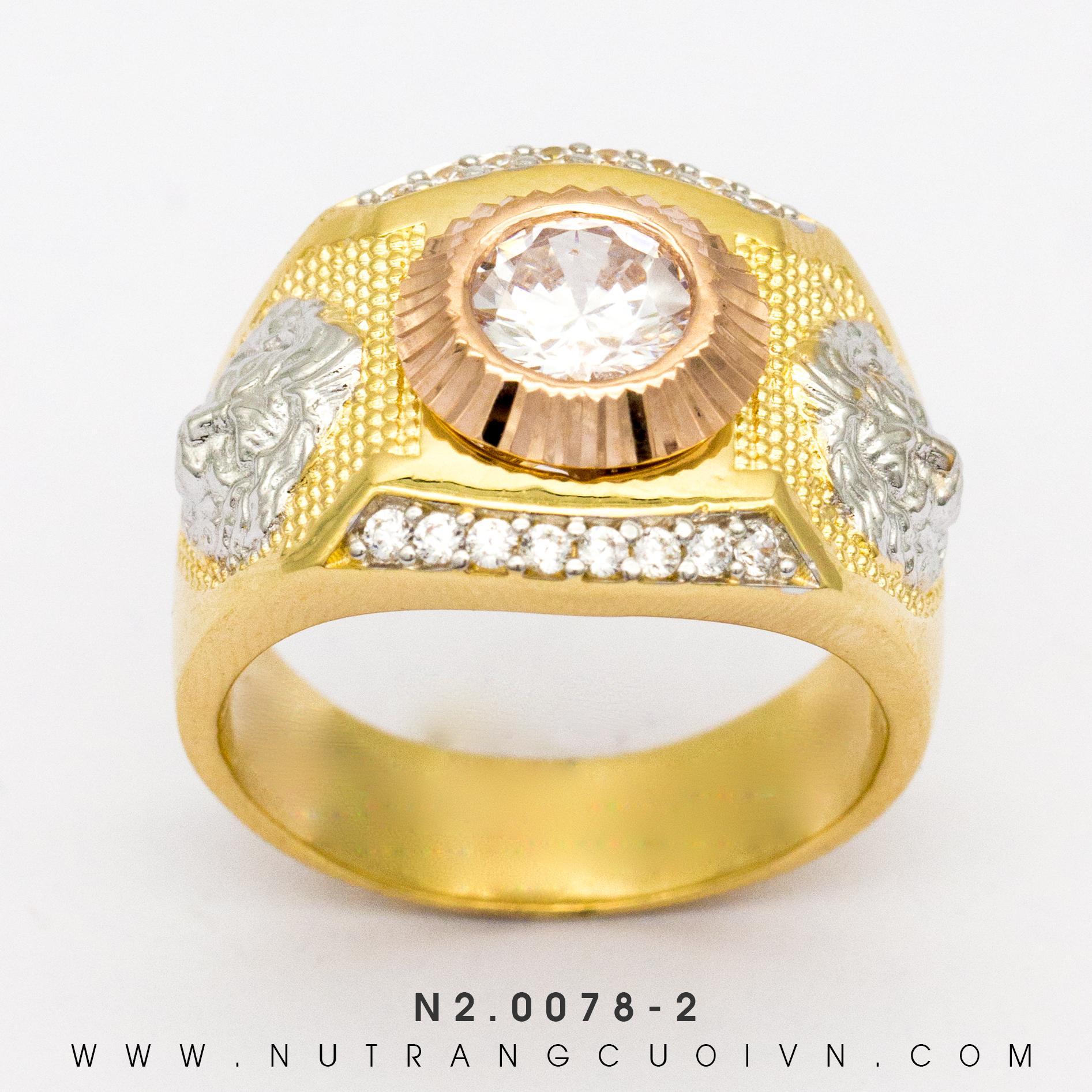 Nhẫn Nam N2.0078-2