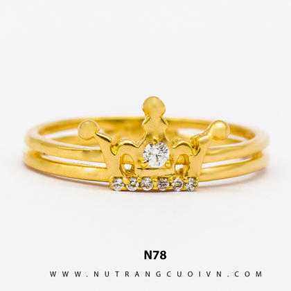 Nhẫn vàng nữ N78