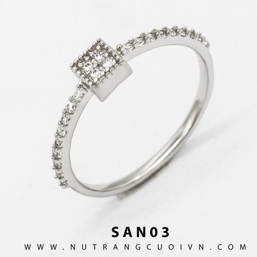 Nhẫn nữ T1.SAN03