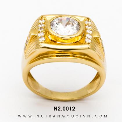 Nhẫn vàng nam N2.0012